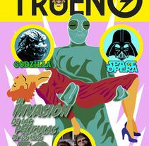 TRUENO FANZINE. A Editorial Design project by Julián Almazán         - 13.10.2016