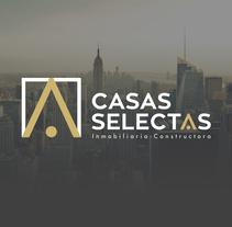 Casas Selectas | Rebranding. Un proyecto de Publicidad, Br, ing e Identidad y Diseño gráfico de Jona Flores         - 31.05.2016