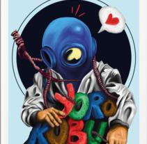 """Creatividad concurso """"Hazlo tú"""" de Yorokobu.. Un proyecto de Ilustración, Diseño editorial y Pintura de Chete Sanchez - 19-12-2016"""