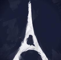 Festival du Cinéma Brésilien de Paris 2014. Un proyecto de Ilustración, Motion Graphics y Animación de Guy Charnaux - 19-12-2016