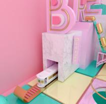 Breiner 612.  Porto. Um projeto de Publicidade e 3D de Nerea Úbeda         - 24.12.2016
