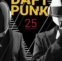 Sistema grafico DAFT PUNK. A Design project by EvelynTello - 26-12-2016