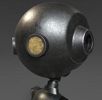 Robot. Un proyecto de Diseño, 3D y Animación de Víctor Plazas Expósito         - 30.09.2017