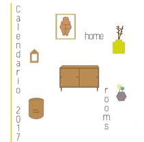 Home Rooms . Un proyecto de Diseño gráfico de Sandra  Mediel  - 05-01-2017