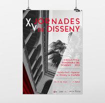 Jornadas de diseño EASD - Propuestas de cartel. Um projeto de Design gráfico de Coral Devesa Arcas         - 08.04.2015