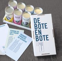 De bote en bote. Un proyecto de Diseño editorial, Diseño gráfico y Packaging de Juan Jareño  - 04-07-2016
