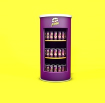 Pringles Display Stand . A 3D project by Gabriel Nieto         - 13.01.2017