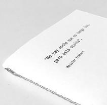 Pieza promocional para la Noche Blanca. Un proyecto de Diseño editorial y Diseño gráfico de Juan Jareño  - 16-01-2017