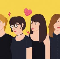 Las Odio - TENTACIONES nº20. Um projeto de Ilustração e Design editorial de Eva Mez         - 16.01.2017