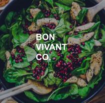 Bon Vivant & Co. Website. Un proyecto de UI / UX, Diseño interactivo, Diseño Web y Desarrollo Web de NO — CODE         - 16.01.2017
