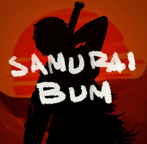 Samurai Bum. A Illustration project by Daniel Jimenez - 09-11-2016