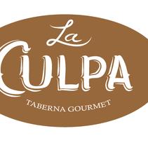Mural y Carteleria para Taberna La Culpa. Un proyecto de Diseño, Ilustración y Caligrafía de Felipe Zavala Muñoz - 19-01-2017