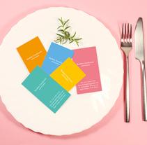 Healthy cards. Un proyecto de Br, ing e Identidad y Diseño gráfico de Daniel Cavalcanti - 20-01-2017