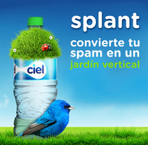 Ciel: Splant. A Advertising, and Marketing project by Daniel Granatta - 09-02-2013