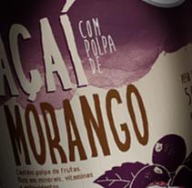 Mais Yogo - Packaging para Frozen de Aç. Um projeto de Direção de arte e Packaging de Edmundo Miranda         - 23.01.2017