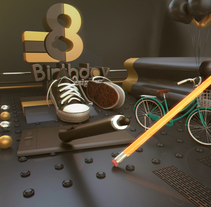 Desarrollo de espacio 3d conmemorativo . A Design, Illustration, and 3D project by francisco Campos         - 29.01.2017