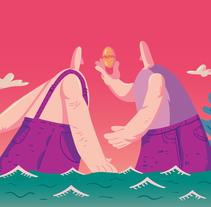 Giants. Un proyecto de Ilustración de Sergio  R. Cerón - 30-01-2017