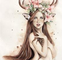 """""""Sarane"""". Un proyecto de Ilustración y Bellas Artes de Sara Casilda         - 04.08.2016"""