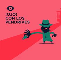 APP: ¡OJO! Guia de concienciación en seguridad de la información. Un proyecto de Ilustración, Desarrollo de software, Dirección de arte, Diseño gráfico, Comic, Cop y writing de Yoana Rial - 04-12-2016
