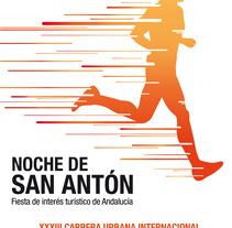 Campaña publicitaria - Carrera de San Antón. Un proyecto de Diseño y Eventos de Raquel Ortega - 14-06-2016