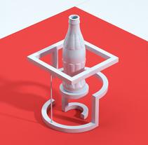 Coca-Cola 3D Print. Un proyecto de Fotografía, 3D y Diseño de producto de JVG  - 22-01-2017
