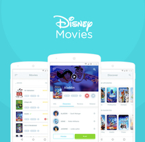 Disney Movies Anywhere - Mobile App Redesign. A UI / UX project by Miguel Ángel Rodríguez         - 07.02.2017