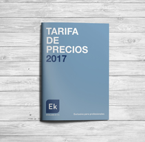 TARIFA EKSELANS 2017. A Photograph, Editorial Design, and Graphic Design project by Claudia Domingo Mallol         - 05.01.2017