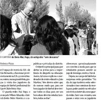 Reportaje del equipo de futbol aveirense Beira-Mar. Diario de Aveiro (Portugal). Um projeto de Escrita de Rebeca  Plaza López - 08-10-2010