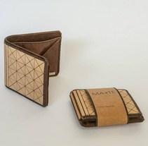 MA-TE: Billetera de madera y cuero. Un proyecto de Diseño de producto de Magdalena Alzerreca Letelier         - 10.02.2017
