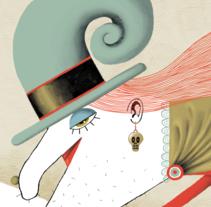 Not all is what it seems. Un proyecto de Ilustración, Diseño editorial, Educación y Bellas Artes de Víctor Escandell - 12-02-2017