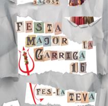 Ilustraciones / Carteles. A Design, Illustration, Graphic Design, T, and pograph project by Alex Marí Massa         - 14.06.2016