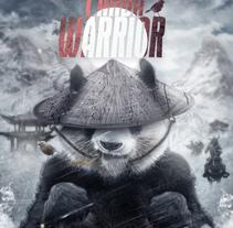 Mi Proyecto del curso: Retoque de Película / Panda Warrior. Um projeto de Design, Direção de arte, Design gráfico e Cinema de Emilio Rodriguez Gonzalez         - 14.02.2017