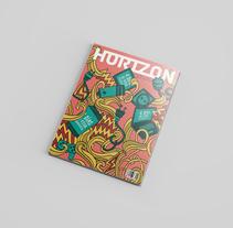 Revista Editorial 2 - Horizon. A Design, Illustration, Photograph, Editorial Design, Graphic Design&Infographics project by Francisco Di Candia - 05-03-2017