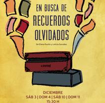 Afiche - En busca de recuerdos olvidados. A Design, Illustration, and Graphic Design project by Francisco Di Candia - 05-03-2017