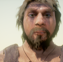 Neandertal. A 3D, and Character Design project by Candido Romon Diaz         - 07.03.2017