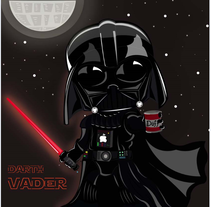 Fan - Art Darth Vader. A Illustration, and Character Design project by jlsoto1992         - 12.01.2016