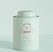 Poet tea. A Packaging project by PATTEN         - 22.03.2017