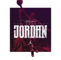 Michael Jordan. A Design, Graphic Design, T, and pograph project by Max Gener Espasa - 17-03-2017