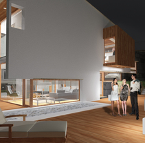 Infografías 3D para vivienda unifamiliar en Las fraguas, Cantabria. Um projeto de 3D e Arquitetura de Juan Pellejero Escobedo         - 22.08.2013