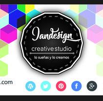 Jandesign Creative Studio. Un proyecto de Diseño, Publicidad y Diseño gráfico de Jonathan  Arias Narváez          - 10.01.2017