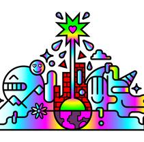 """""""La Creación Del Sabor"""" Campo Viejo. Um projeto de Ilustração, Publicidade, Design gráfico, Packaging, Design de produtos e Arte urbana de Juanma Buah!         - 01.02.2017"""