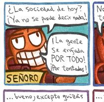 Colaboraciones en fanzines (2015-actualidad). Un proyecto de Ilustración y Comic de Diego Canalejas         - 22.03.2017