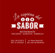 La esquina del Sabor. A Design, and Advertising project by Cristian Espeza Cruz         - 23.03.2017