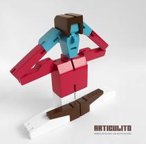 ARTICULITO. Un proyecto de 3D, Diseño de personajes, Diseño industrial, Diseño de jo, as y Diseño de juguetes de bastianbestia - 29-03-2017