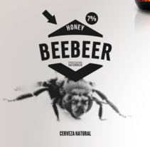 BEEBEER Cerveza Artesanal. A Illustration, and Graphic Design project by Claudio Carvajal Manzo         - 01.04.2017