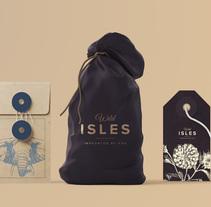 Branding Wild Isles Jewelry. Un proyecto de Br e ing e Identidad de Se ha ido ya mamá         - 03.07.2016