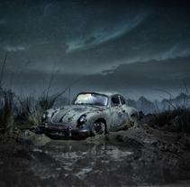 PORSCHE 356B . Un proyecto de Fotografía y Escenografía de David Quiñones - 09-04-2017