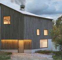 RIVER HOUSE -3DMAX, VRAY, FS, PS. Un proyecto de Diseño, 3D, Arquitectura, Arquitectura interior y Diseño de iluminación de GOEK.         - 12.04.2017