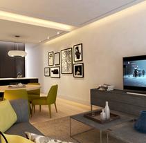 Reforma de vivienda para alquiler vacacional en Madrid centro.. Un proyecto de Diseño, Fotografía, 3D, Arquitectura interior y Diseño de interiores de Bruno Lavedán - 21-02-2016