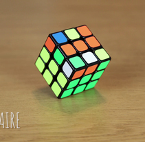Rubik's cube - Stop motion. A Photograph, Animation, and Stop Motion project by Clara Sagarra Valls         - 27.02.2017